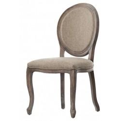Krzesło Tapicerowane Prowansalskie Palida Aluro A