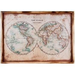 Obraz z Mapą A