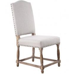 Krzesło Prowansalskie Tapicerowane A
