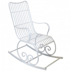 Fotel Na Biegunach Chic Antique Metalowy