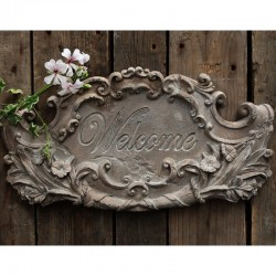 Tablica Welcome Chic Antique