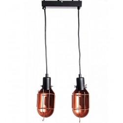 Lampa Industrialna Mechanical Miedziana 3