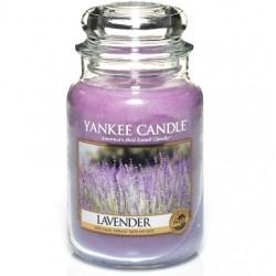 Świeca Yankee Candle Słoik Duży Lawenda