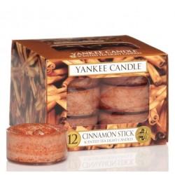 Świeczki Tealight YANKEE CANDLE Cynamon
