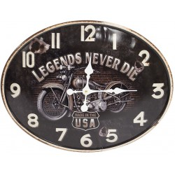 Zegar z Motocyklem