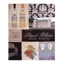 Vintage Obrazek Pinot Blanc