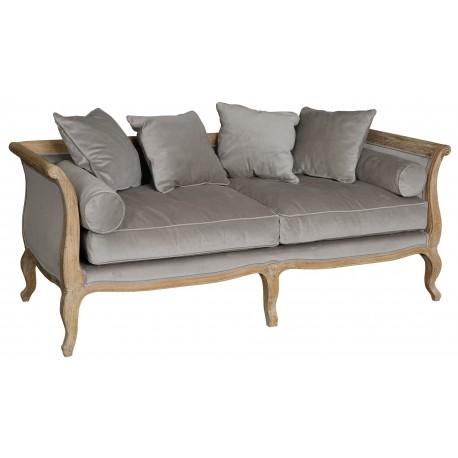 Szara sofa  marki Belldeco