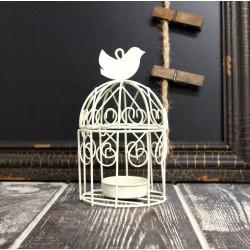 Świecznik Klatka z Ptaszkiem