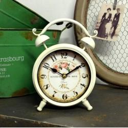 Retro Zegarek Budzik Róże 2