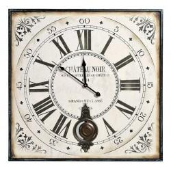 Belldeco Zegar Kwadratowy z Wahadłem