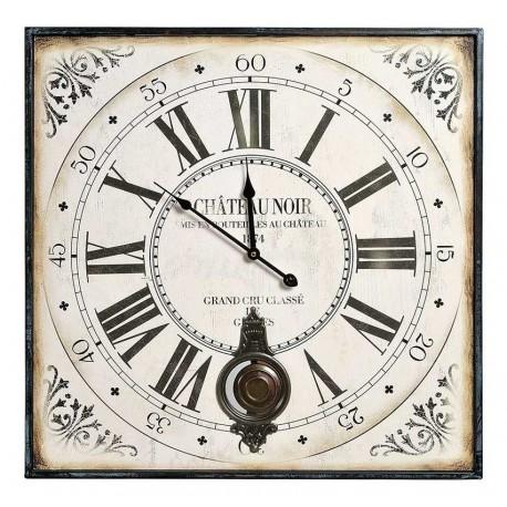 Zegar marki Belldeco kwadratowy z wahadłem