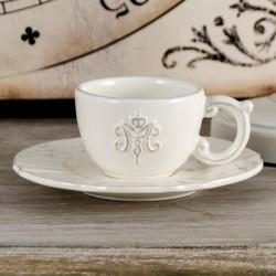 Biała Nicea Filiżanki Do Espresso