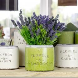 Zielone Osłonki na Donice Flowers Garden A