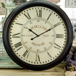 Duży Zegar Retro 3