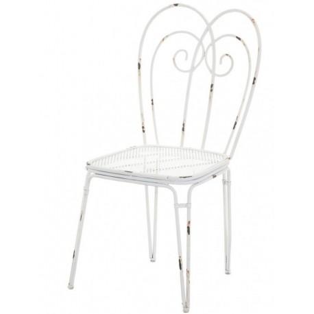 metalowe krzesło aluro lamali
