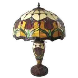 Stojąca Lampa Tiffany Duża U
