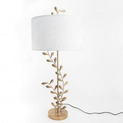 Ozdobna Lampa Stołowa Liście