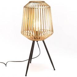 Złota Lampa Na Trójnogu A
