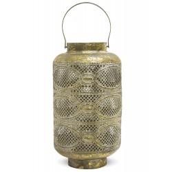 Ażurowy Lampion Metalowy A