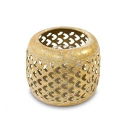 Ażurowy Lampion Metalowy E