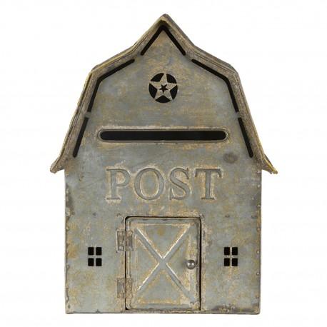 Skrzynka Na Listy w Stylu Prowansalskim Ozdobna C
