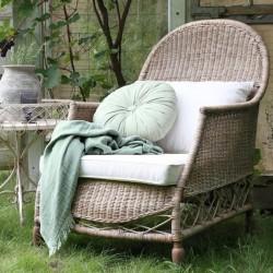 Krzesło Bujane Chic Antique Rattanowe