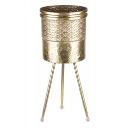Złoty Kwietnik Metalowy D