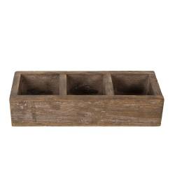 Drewniany Pojemnik z Przegródkami B Clayre & Eef