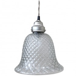 Szklana Lampa Chic Antique Dzwonek A