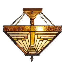 Lampa Stołowa Tiffany Ozdobna G