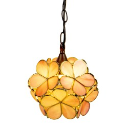 Lampa Tiffany Kwiatki A