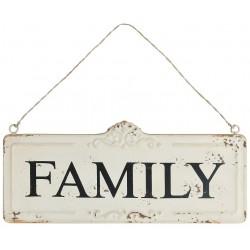 Metalowe Zawieszki Family Belldeco
