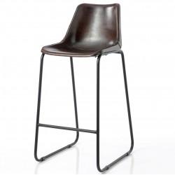 Krzesło Barowe w Stylu Industrialnym B
