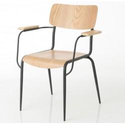 Krzesło Retro z Podłokietnikami Elis A