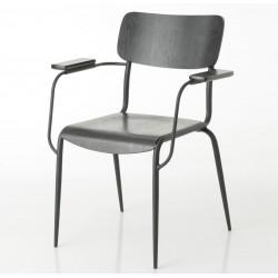 Krzesło Retro z Podłokietnikami Elis C