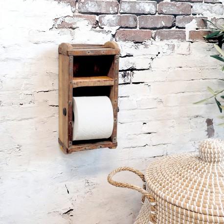 Stojak Na Papier Toaletowy Ze Starych Form Do Cegieł Chic Antique Grimaud