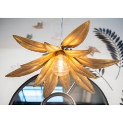 Lampa Ze Złotymi Liśćmi A