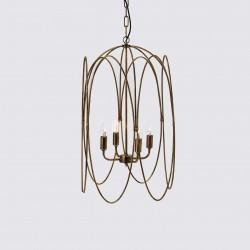 Lampa Ze Złotymi Liśćmi B