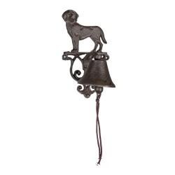 Żeliwny Dzwonek z Psem A