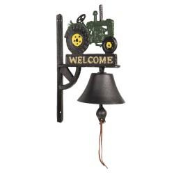 Żeliwny Dzwonek z Motylem