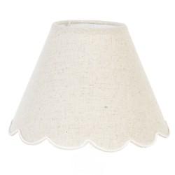 Abażur Prowansalski Rattanowy Biały