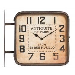 Zegar Dwustronny Kolejowy Belldeco