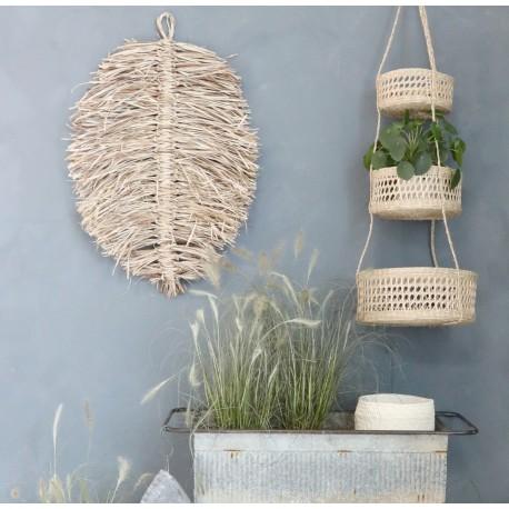 Suszony Liść Palmy Chic Antique Na Ścianę
