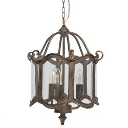 Lampa w Stylu Prowansalskim Przeszklona