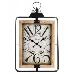 Zegar w Stylu Retro Owalny
