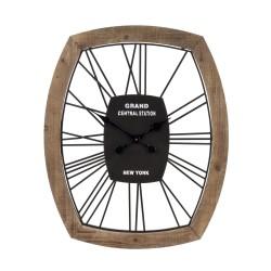 Zegar w Stylu Retro Okrągły B