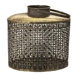 Ażurowy Lampion Metalowy A Clayre & Eef