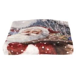 Koc Świąteczny z Mikołajem A Clayre & Eef