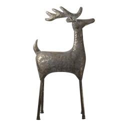 Duża Figura Ozdobna Jeleń Metalowy B Clayre & Eef