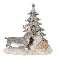 Dekoracja Świąteczna Ledowa Pies i Kot Clayre & Eef